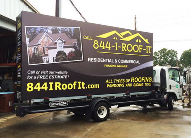 Billboards2Go Mobile Billboard Image of 800IROOFIT