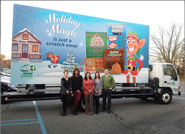 New Jersey Lottery Mobile Billboard