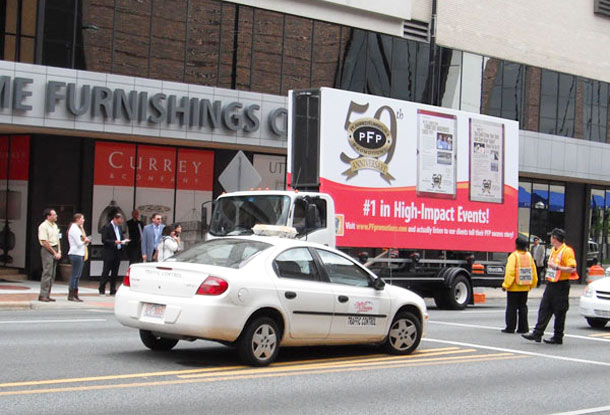Billboards2Go.com Mobile Billboard image - Client PFP HIGHPOINT
