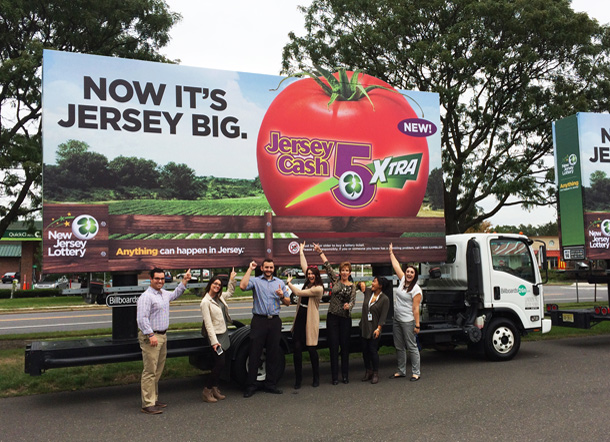 New Jersey Lottery Mobile Billboard Image