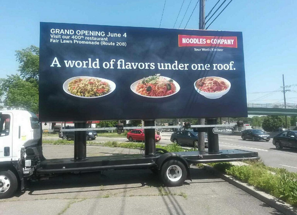 Noodles and Company Mobile Billboard Image